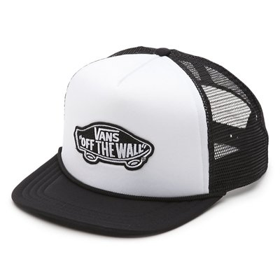 Vans Cap classic patch White/Black